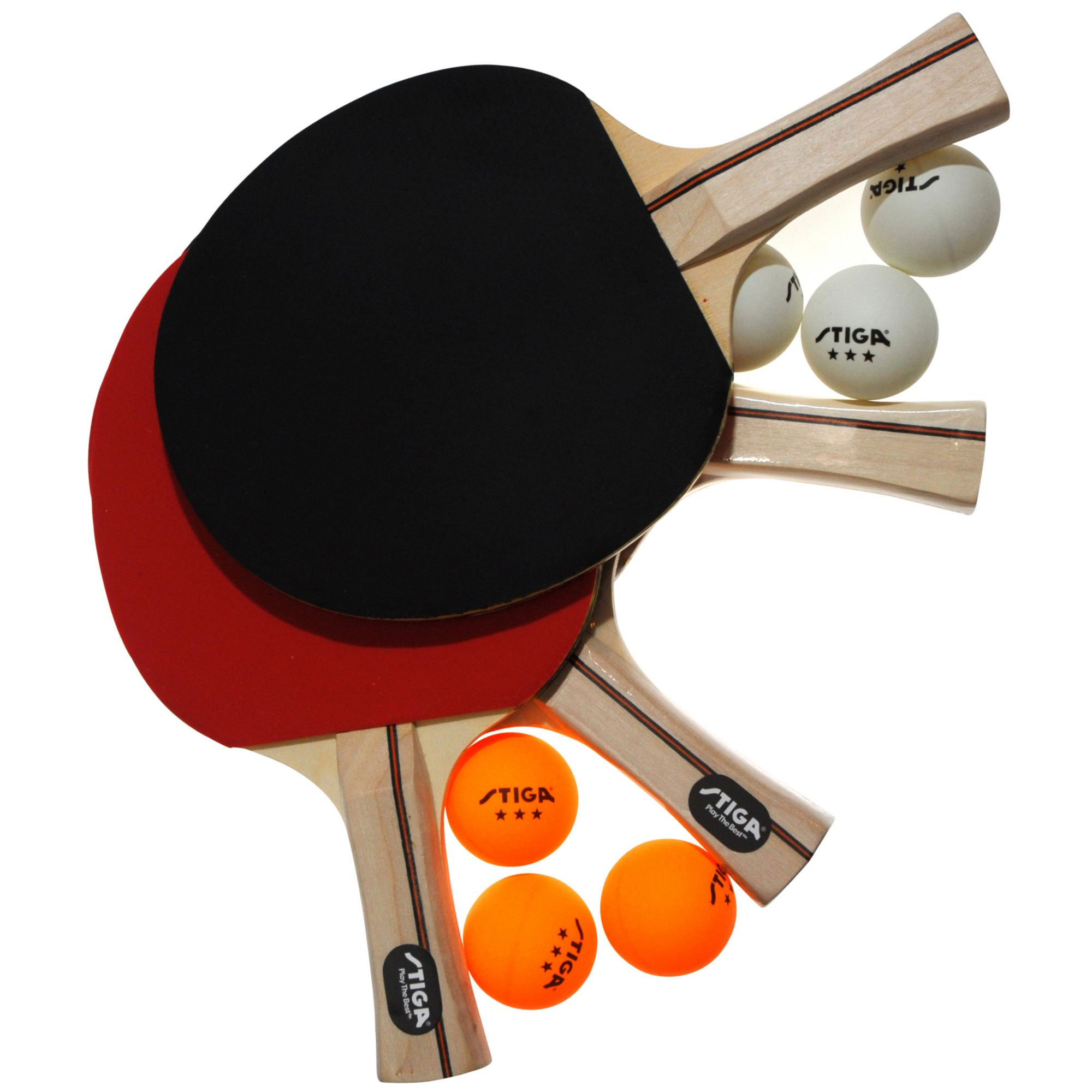 product image stiga master series performance four player indoor table tennis set
