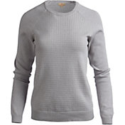 Sport Haley Women's Camilla Textured Lurex Golf Sweater