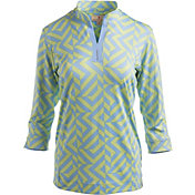 Sport Haley Women's Georgia Three-Quarter Sleeve Golf Shirt
