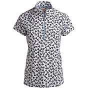 Sport Haley Women's Halle Printed Golf Polo