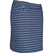 Sport Haley Women's Sailor Pull-On Print Stretch Woven Golf Skirt
