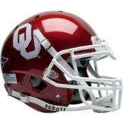 Schutt Oklahoma Sooners XP Authentic Football Helmet
