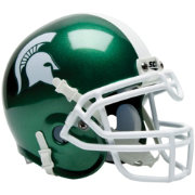 Schutt Michigan State Spartans Mini Authentic Football Helmet