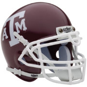 Schutt Texas A&M Aggies Mini Authentic Football Helmet