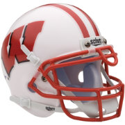 Schutt Wisconsin Badgers Mini Authentic Football Helmet