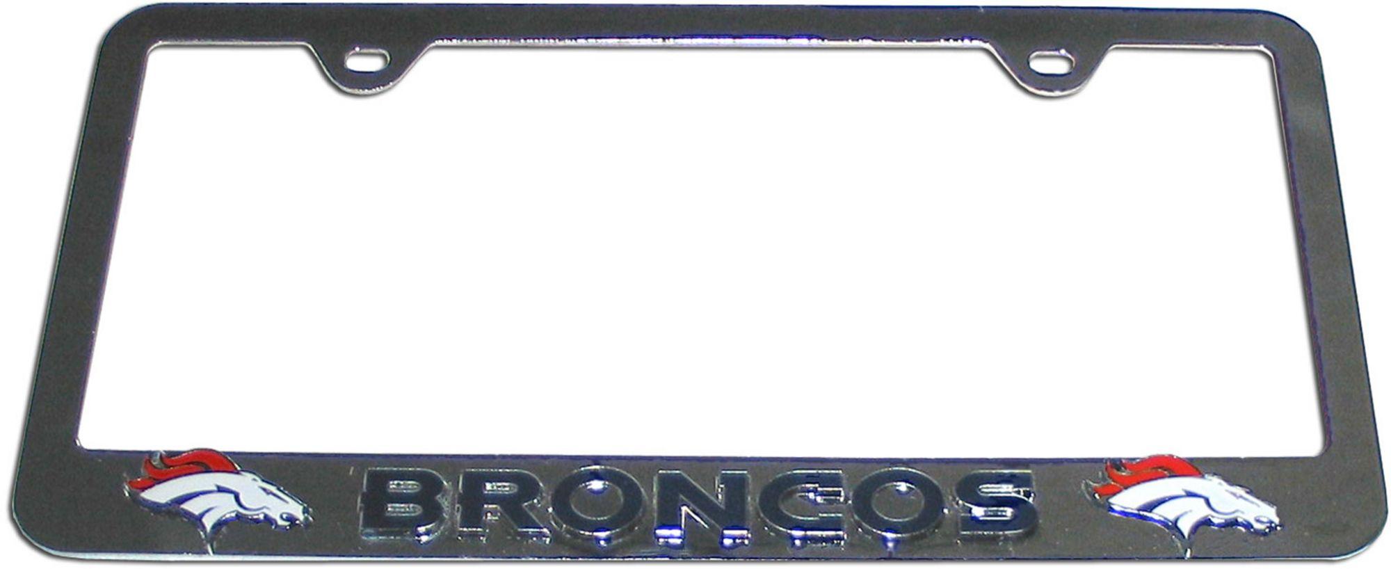 Denver Broncos License Plate Frame   DICK\'S Sporting Goods