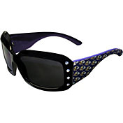 Baltimore Ravens Women's Rhinestone Designer Sunglasses