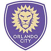 Stockdale Orlando City 12 x 12 Metallic Logo Performance Decal