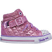 Skechers Toddler Twinkle Toes Shuffles Heart N Sole Casual Shoes