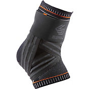 Shock Doctor Ultra Knit Ankle Brace with Figure-6 Strap