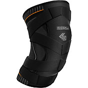 Shock Doctor Ultra Knit Knee Strap with Full Patella Gel Support and X-Strap
