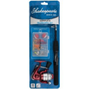Shakespeare Complete Telescopic Spinning Combo Kit