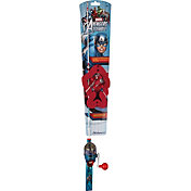 Shakespeare Captain America Lighted Spincast Combo Kit