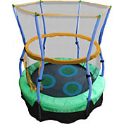 "Skywalker Trampolines 40"" Lilly Pad Adventure Bouncer Trampoline with Enclosure"