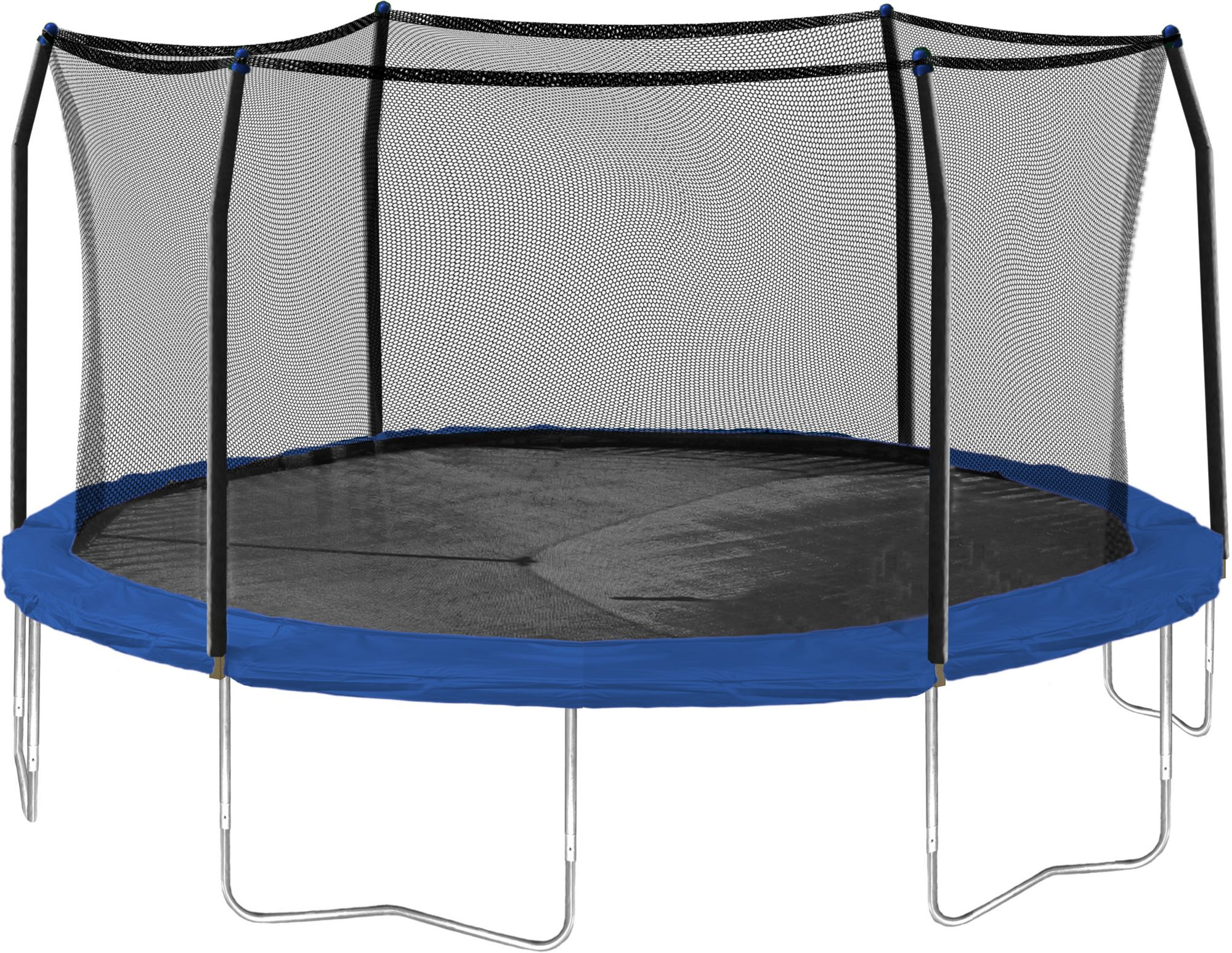 Square Trampoline Next Rectangle Trampoline With