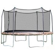 Skywalker Trampolines 15' Round Camo Trampoline with Enclosure