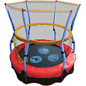 "Skywalker Trampolines 48"" Zoo Animal Adventure Bouncer Trampoline with Enclosure"