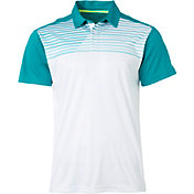 Slazenger Men's Chest Print Tennis Polo