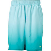 Slazenger Men's Printed Ombre 9'' Tennis Shorts