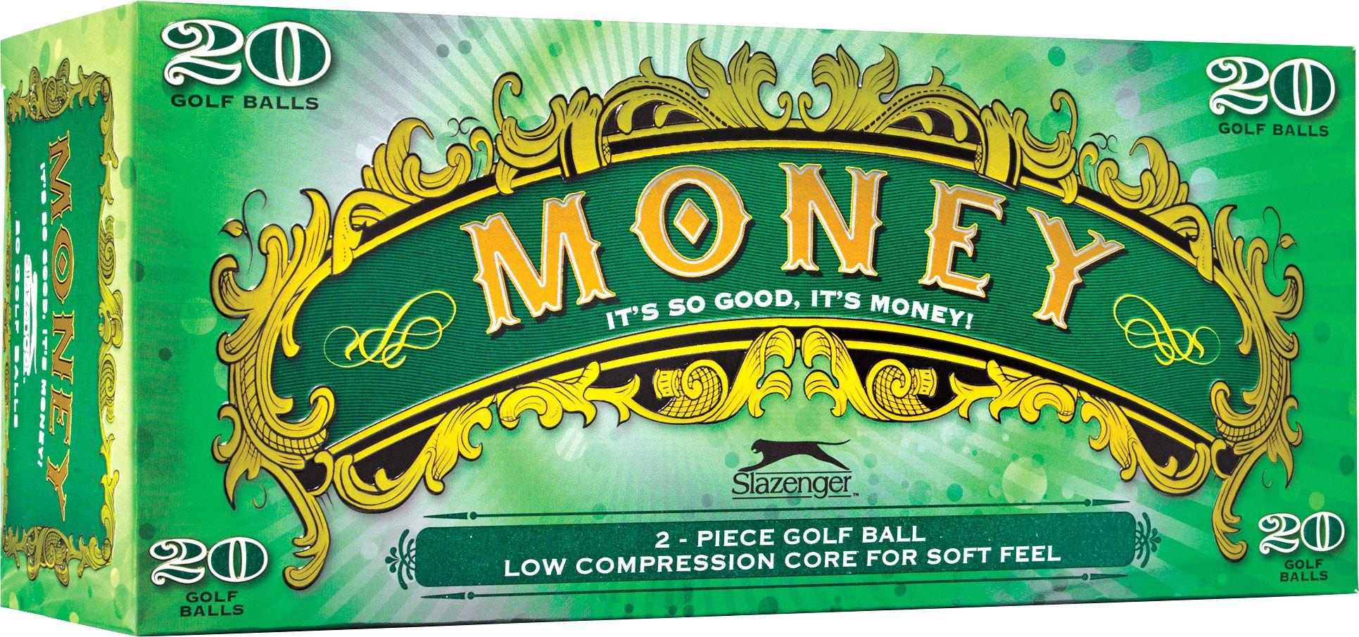 slazenger money golf balls u2013 20 pack u0027s sporting goods