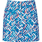 Slazenger Women's Luminescent Collection Fracture Golf Skort