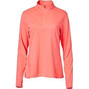 Slazenger Women's Tech Collection Space Dye Quarter-Zip Golf Pullover
