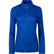 Slazenger Women's Tech Space Dye Quarter-Zip Golf Pullover