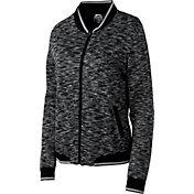 Slazenger Women's Tech Collection Space-Dye Bomber Golf Jacket
