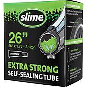 """Slime Smart Tube Self-Healing Schrader Valve 26"""" Bike Tube"""