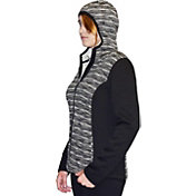 Snow Angel Women's Ultima Black Diamond Full Zip Hoodie