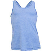 Soffe Girls' Knotted Racerback Tank Top