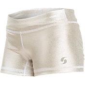 Soffe Girls' Metallic Shorts