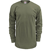 Soffe Men's Crewneck Long Sleeve Shirt