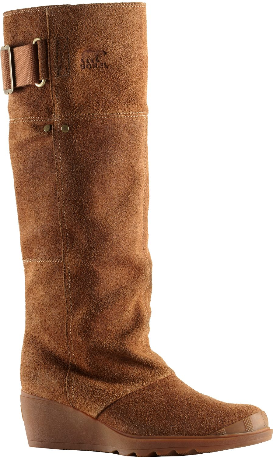 Sorel Suede Knee-High Boots Discount Sale Sale Store Free Shipping Genuine Classic Sale Online Cheap Nicekicks pJ54r3WBlu