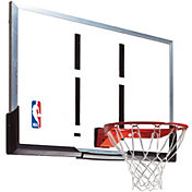 "Spalding 54"" Acrylic Backboard and Arena Slam Rim Combo"