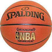 """Spalding Hexagrip Neverflat Composite Official Basketball (29.5"""")"""