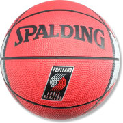 Spalding Portlant Trail Blazers Mini Basketball
