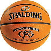 """Spalding Rookie Gear Sponge Rubber Youth Basketball (27.5"""")"""