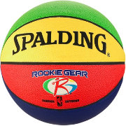 Spalding Rookie Gear Multi-Color Youth Basketball (27.5