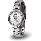 Sparo Women's Chicago White Sox Charm Watch