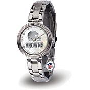 Sparo Women's Cleveland Browns Charm Watch