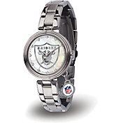 Sparo Women's Oakland Raiders Charm Watch