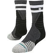 Stance Men's Game Time Quarter Crew Basketball Socks