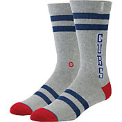 Stance Chicago Cubs Grey Team-Colored Socks