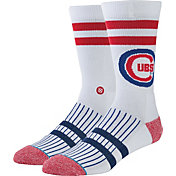 Stance Chicago Cubs White Team-Colored Socks