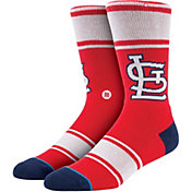 Stance St. Louis Cardinals Red Team-Colored Socks