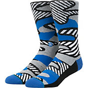 Stance Men's Parsons Striped Camo Crew Socks