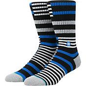 Stance Parson Striped Board Crew Socks