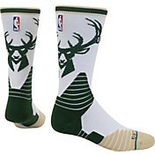 Stance Milwaukee Bucks Logo Crew Green Socks