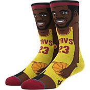 Stance Cleveland Cavaliers LeBron James Toon Socks
